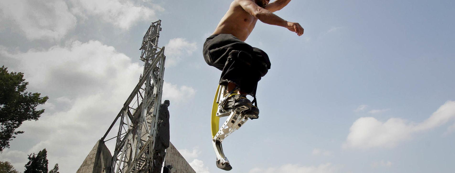 Фото 1 - Прыжки на джамперах
