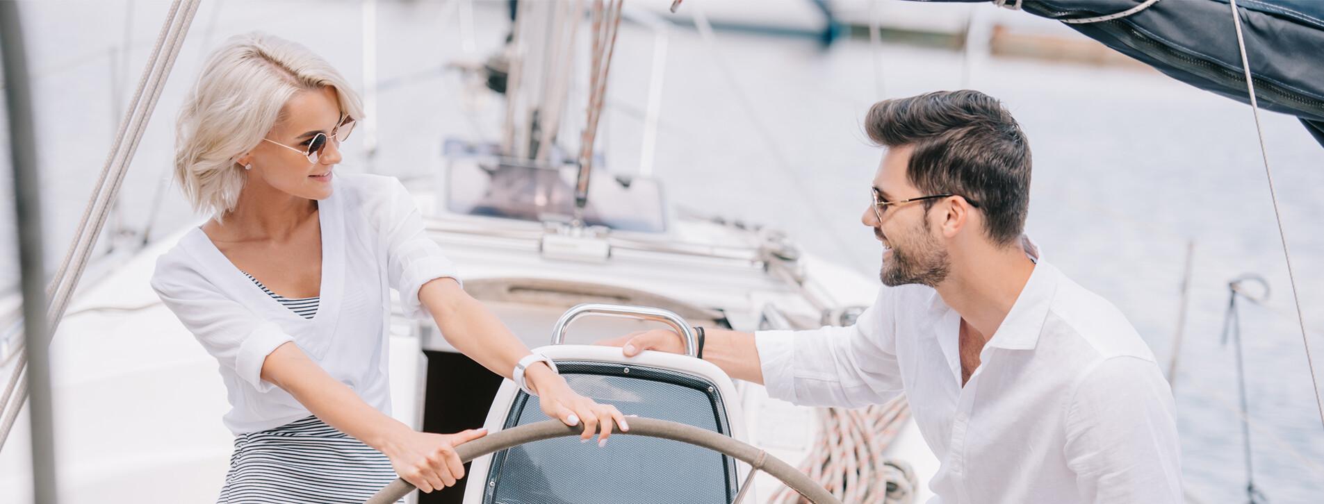 Фото - Романтична прогулянка на яхті