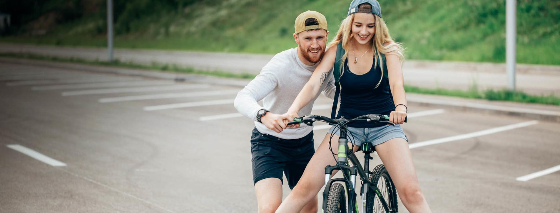 Фото - Велошкола для начинающих