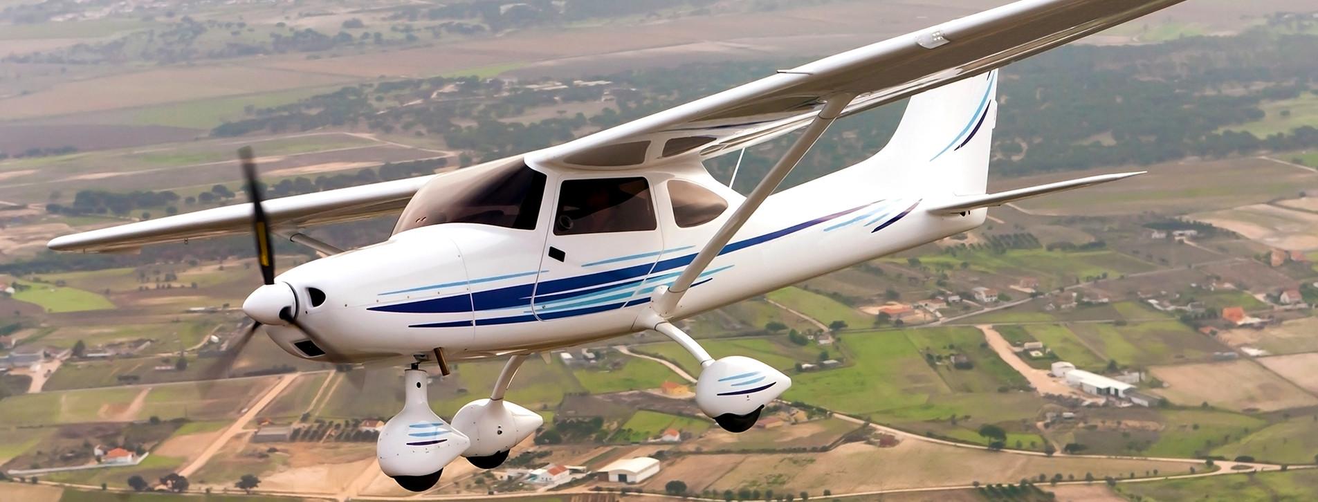 Фото 1 - Полет на легком самолете