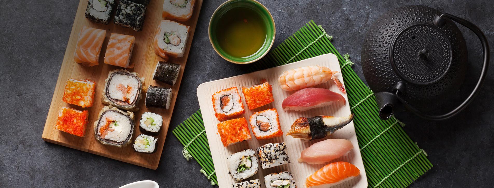 Фото 1 - Мастер-класс суши для двоих