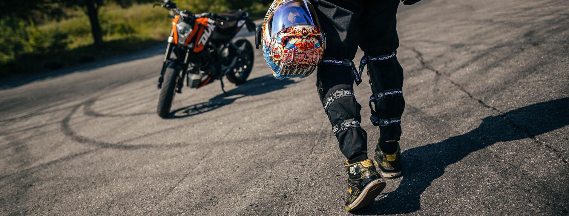 Фото - Мастер-класс езды на мотоцикле для двоих