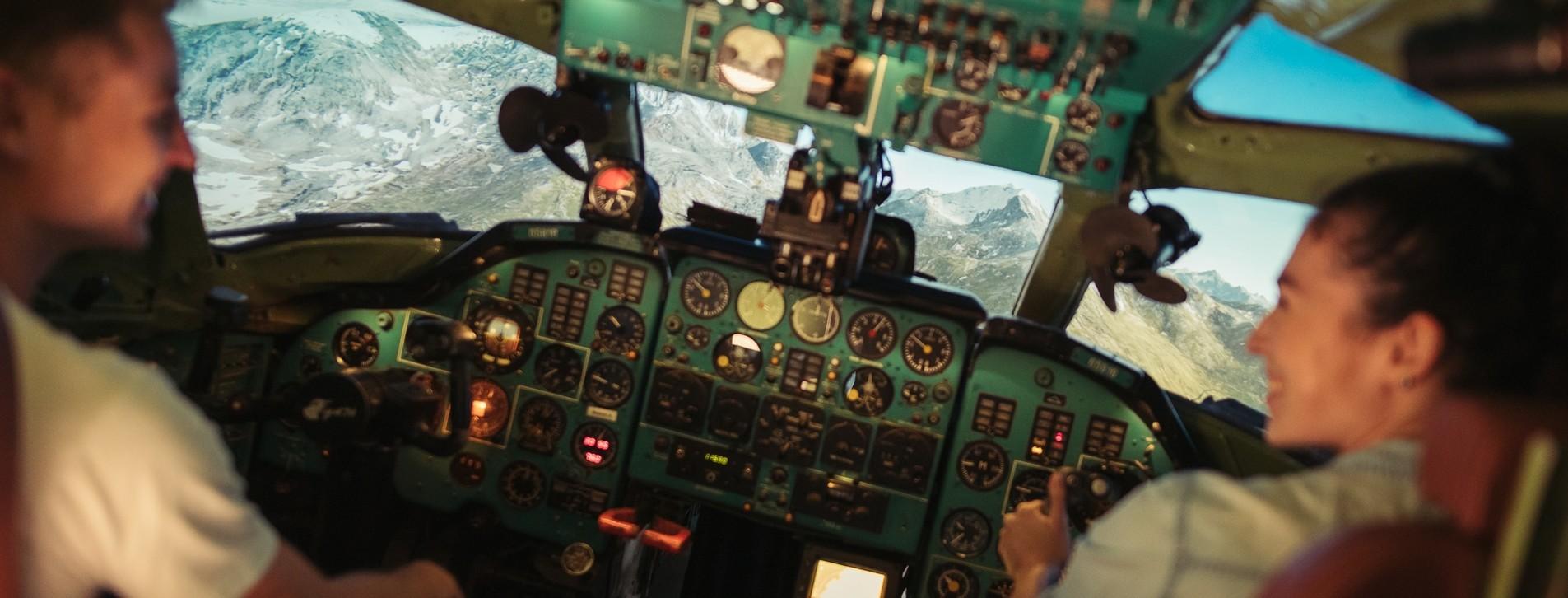 Фото - Авіасимулятор ТУ-134 для двох Long