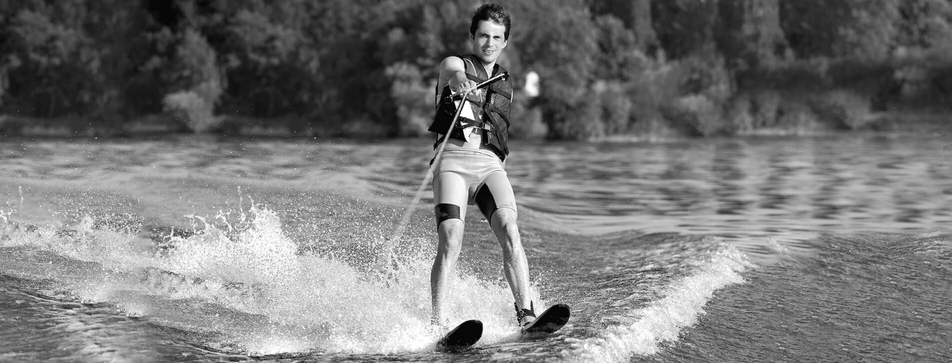 Фото 1 - Катання на водних лижах для двох