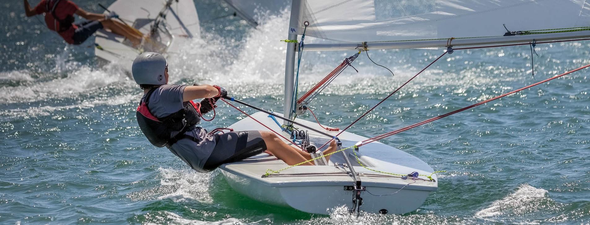 Фото 1 - Мастер-класс олимпийской яхты