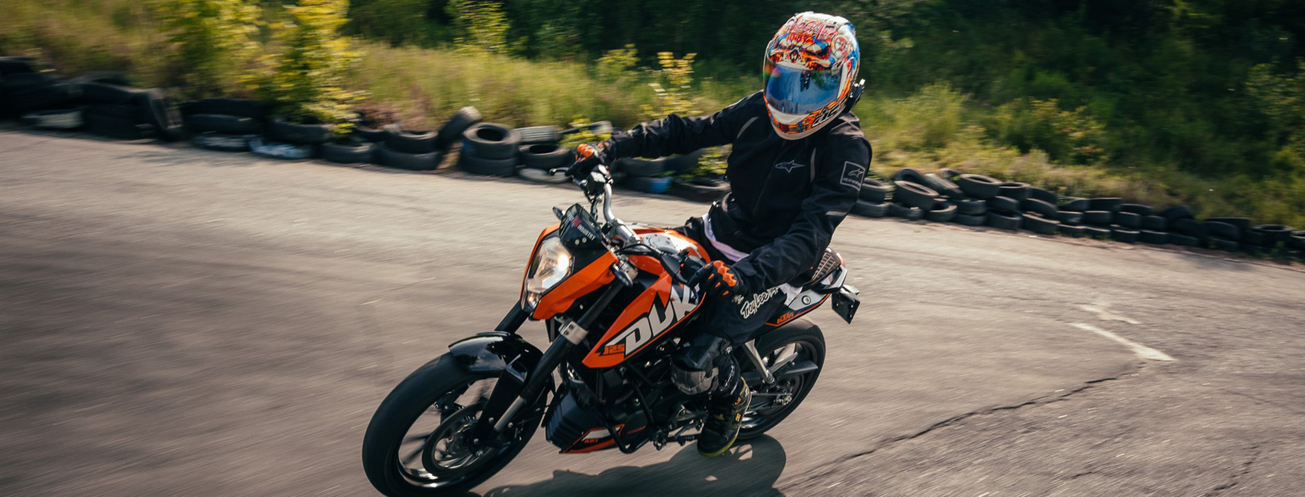 Фото 1 - Курс езды на мотоцикле