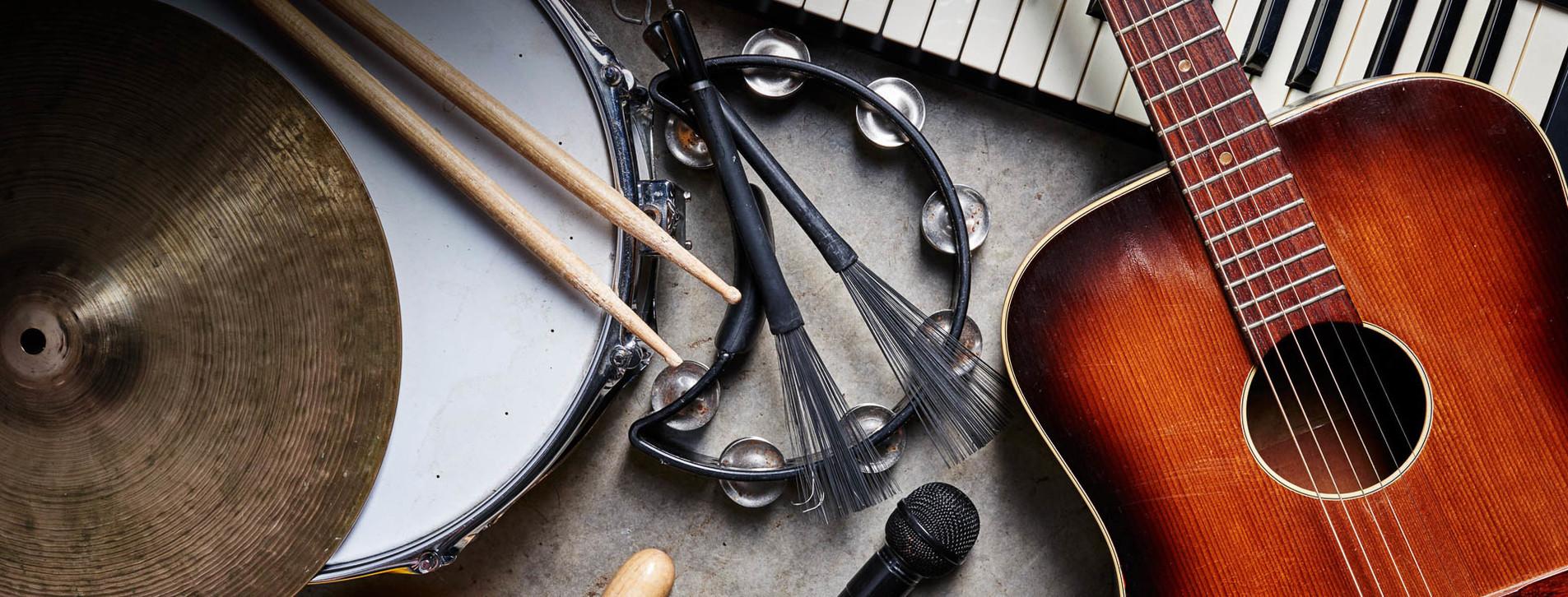 Фото 1 - Игра на 5 музыкальных инструментах