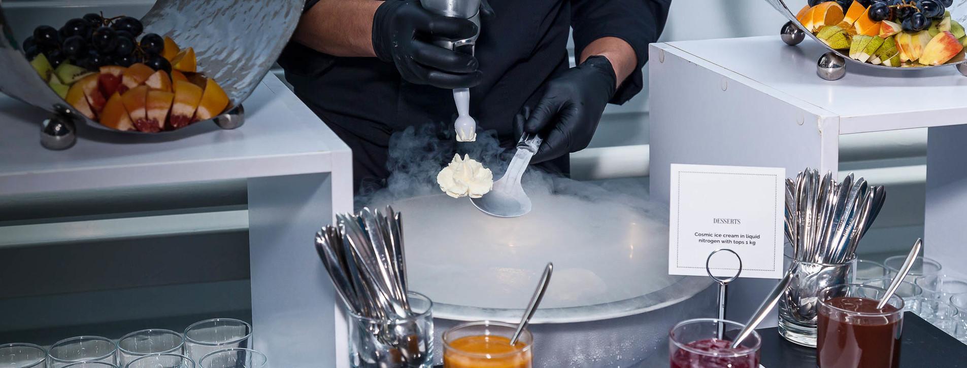 Фото 1 - Мастер-класс молекулярной кухни