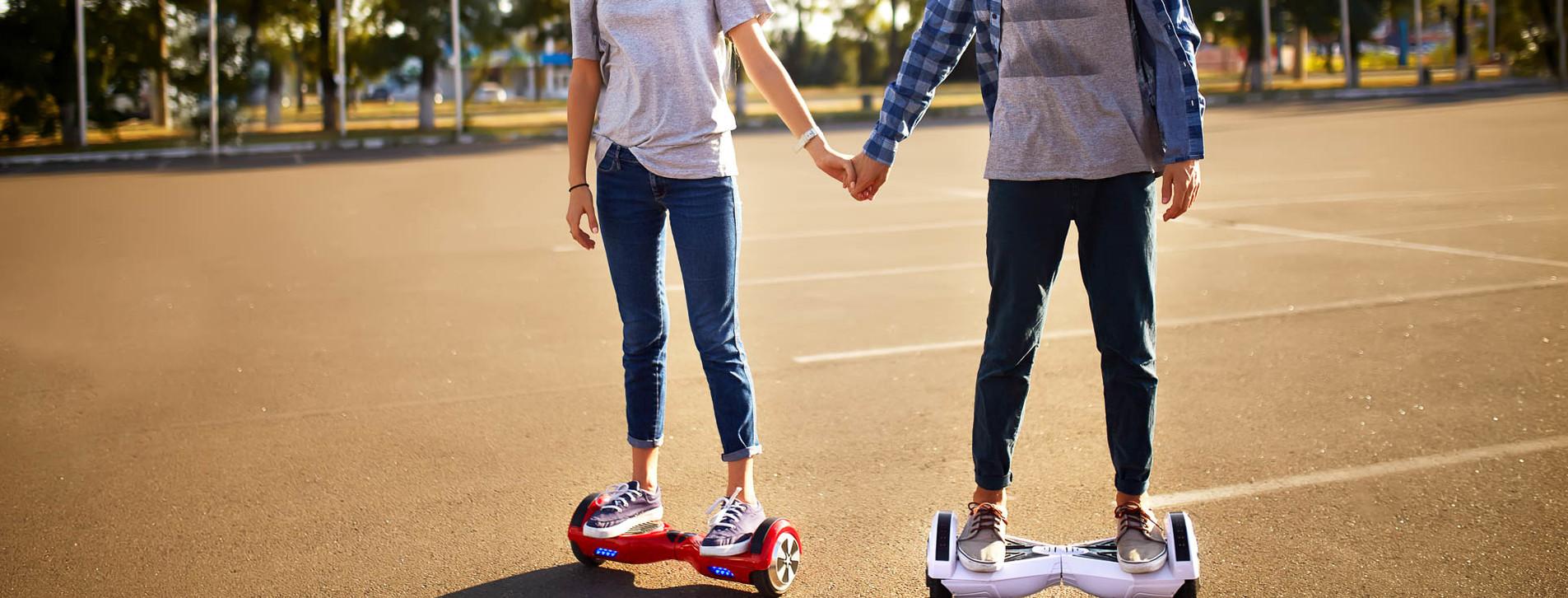 Фото 1 - Прогулка на гироскутерах для двоих