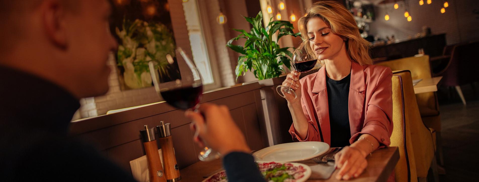 Фото - Вечеря в італійському ресторані