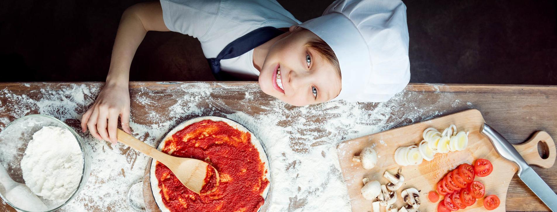 Фото - Детский мастер-класс пиццы