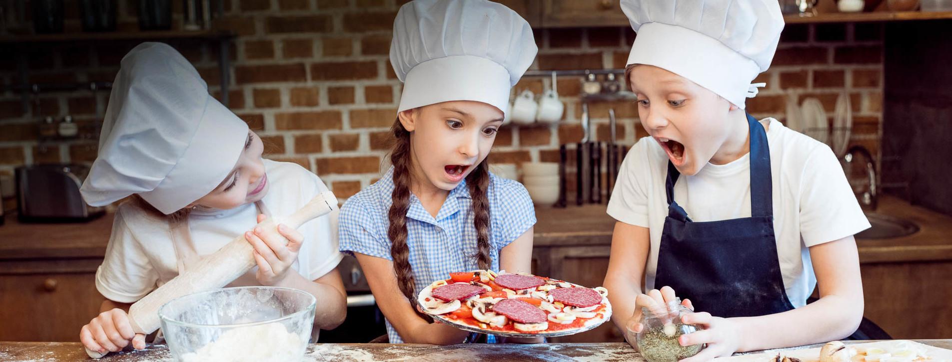 Фото - Детский мастер-класс пиццы для двоих
