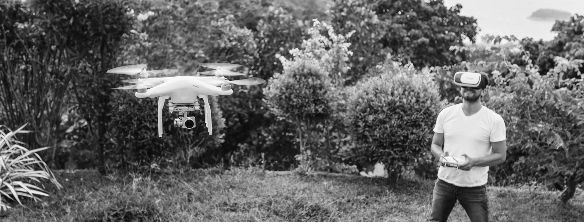 Фото 1 - Тест-драйв квадрокоптера в 3D-очках