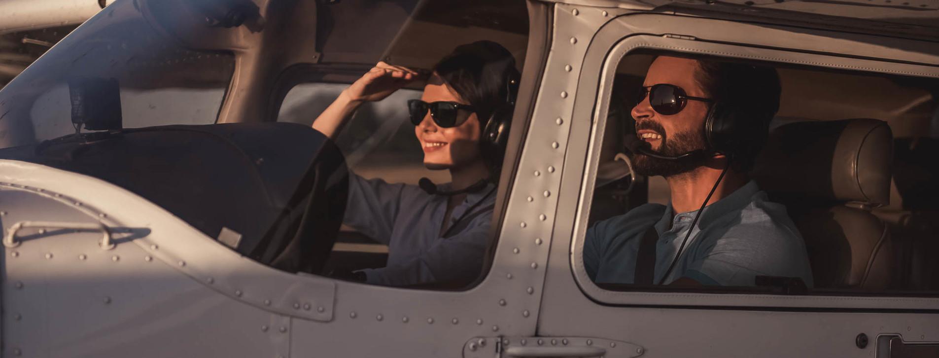 Фото - Учебный полет на самолете для двоих
