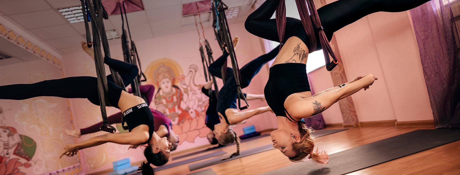 Фото 1 - Йога в воздухе