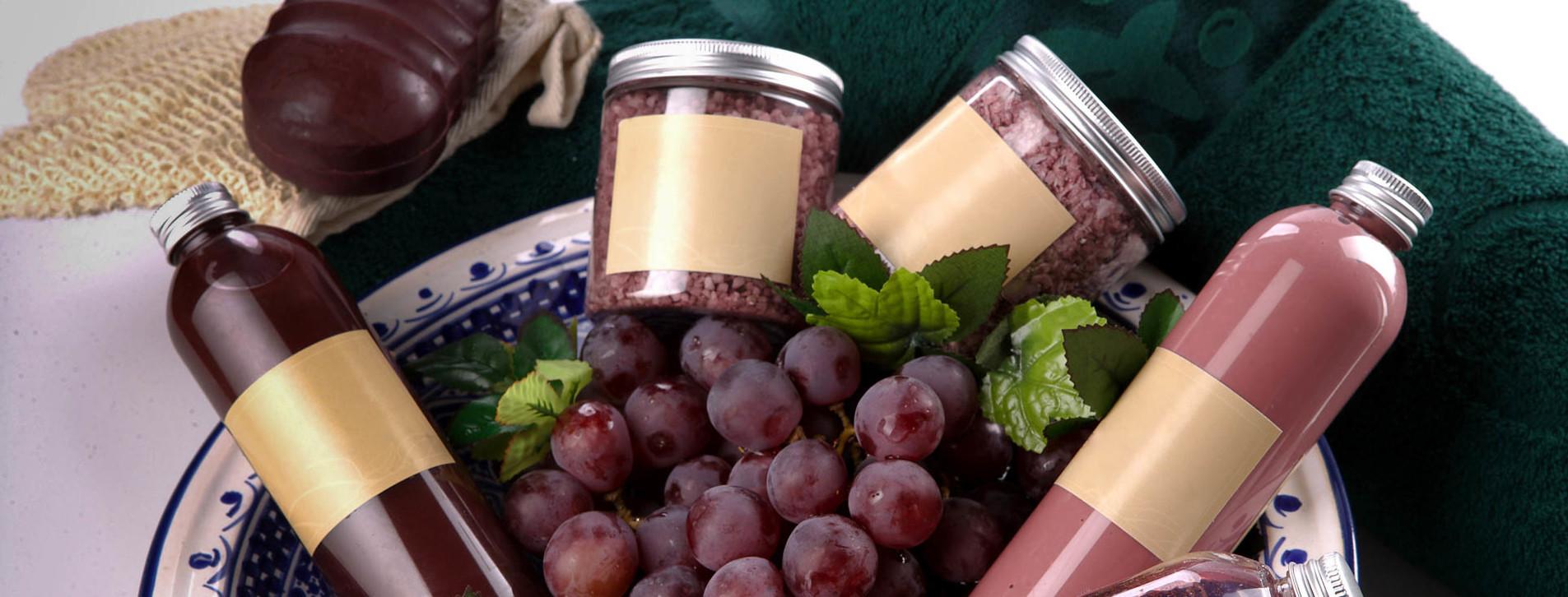 Фото 1 - Виноградное обертывание