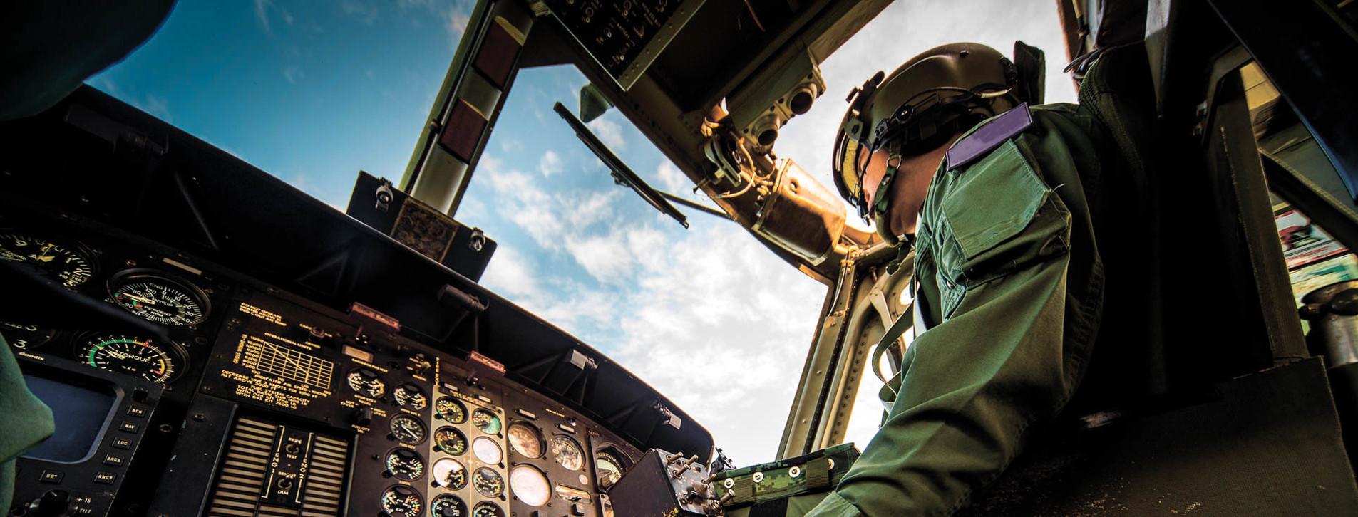 Фото - Авиасимулятор вертолета Ми-8