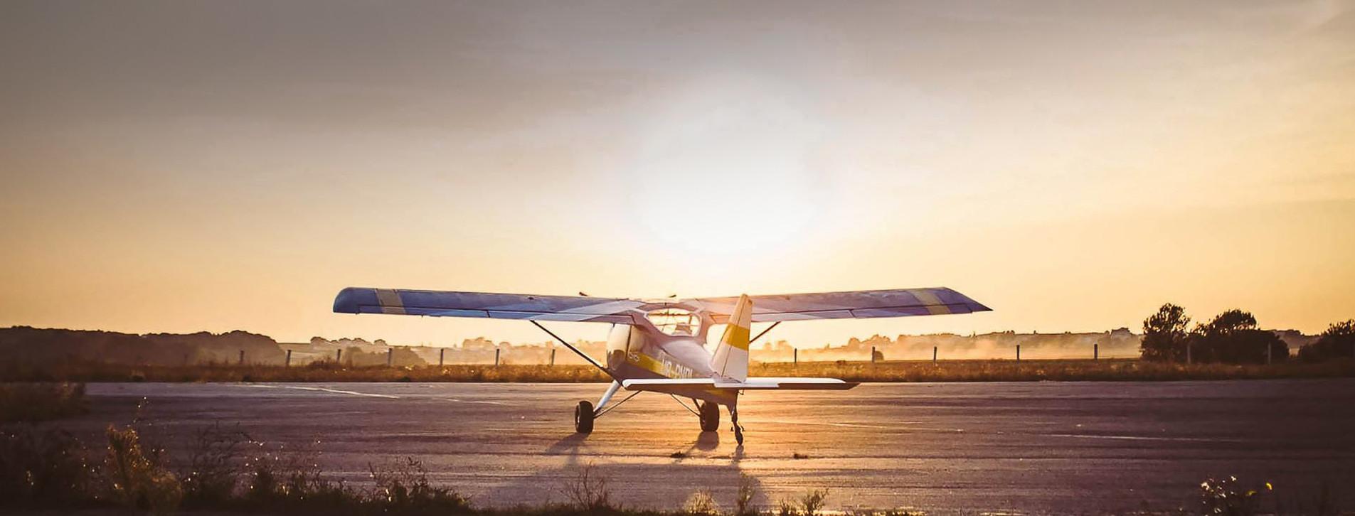 Фото 1 - Затяжной полет на легком самолете