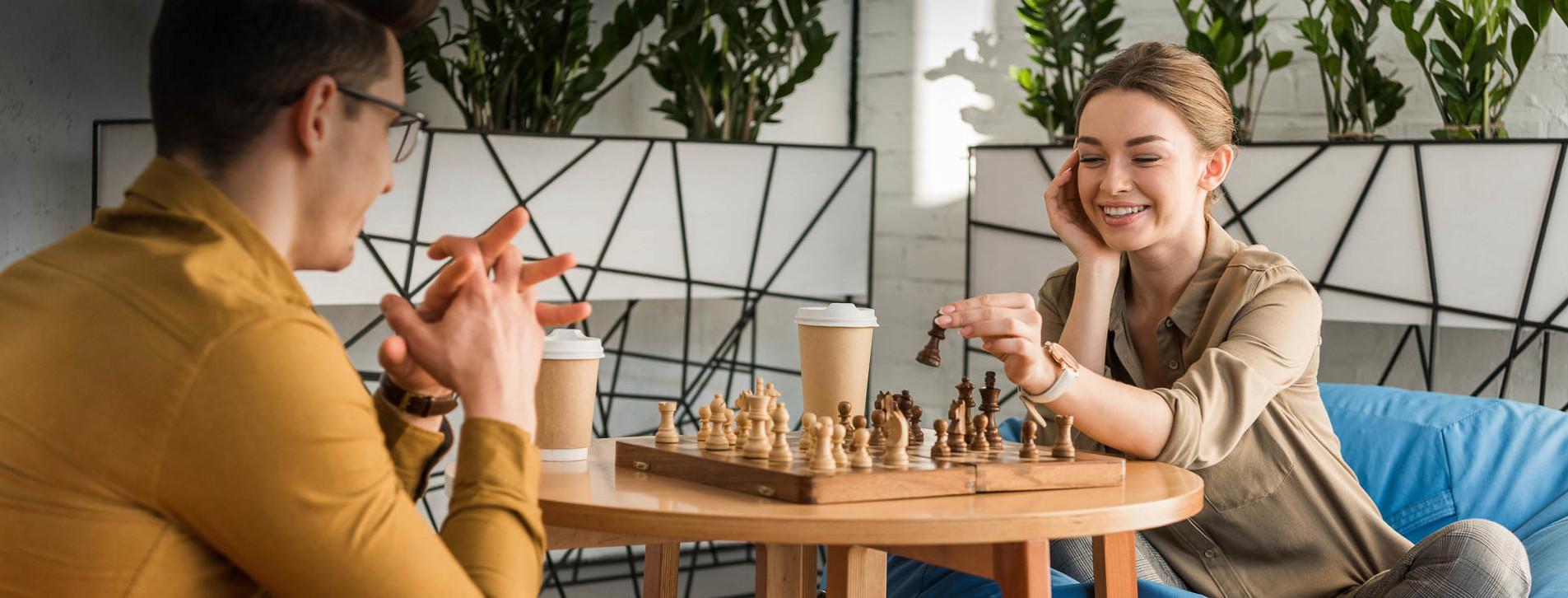 Фото - Мастер-класс игры в шахматы для двоих