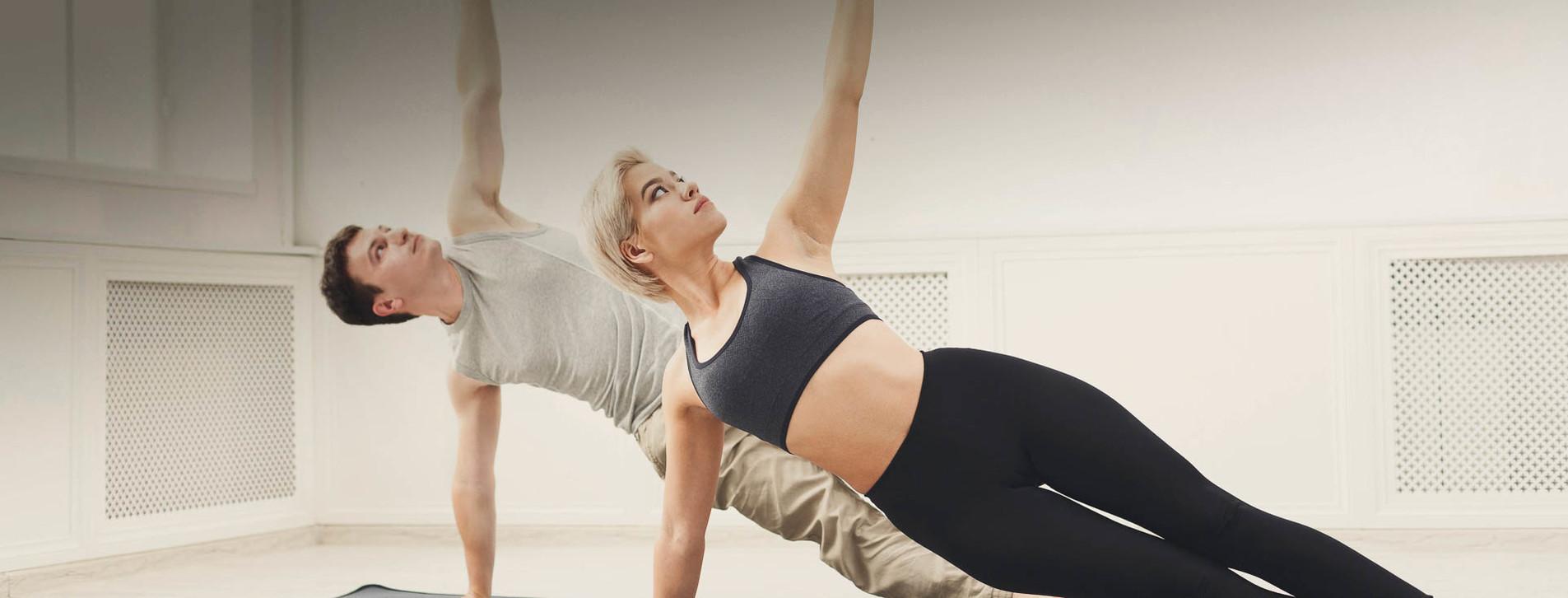 Фото 1 - Горячая йога в группе для двоих