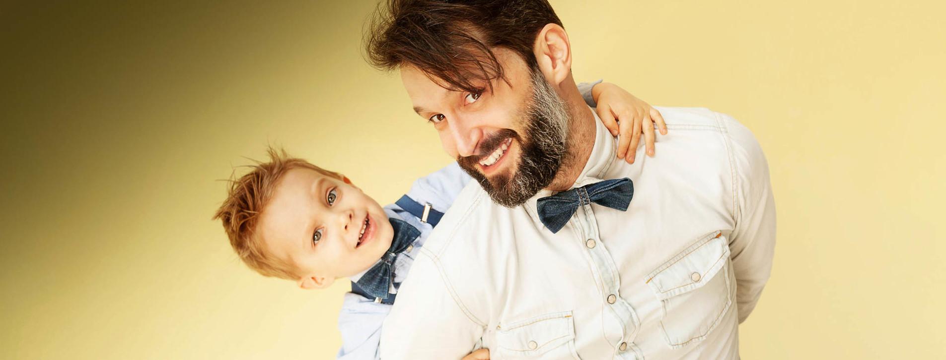 Фото - Стрижка для папы и сына