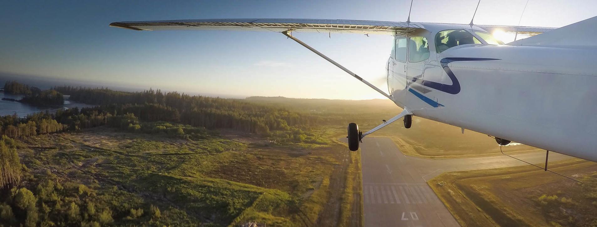 Фото - Політ на літаку над Дніпром