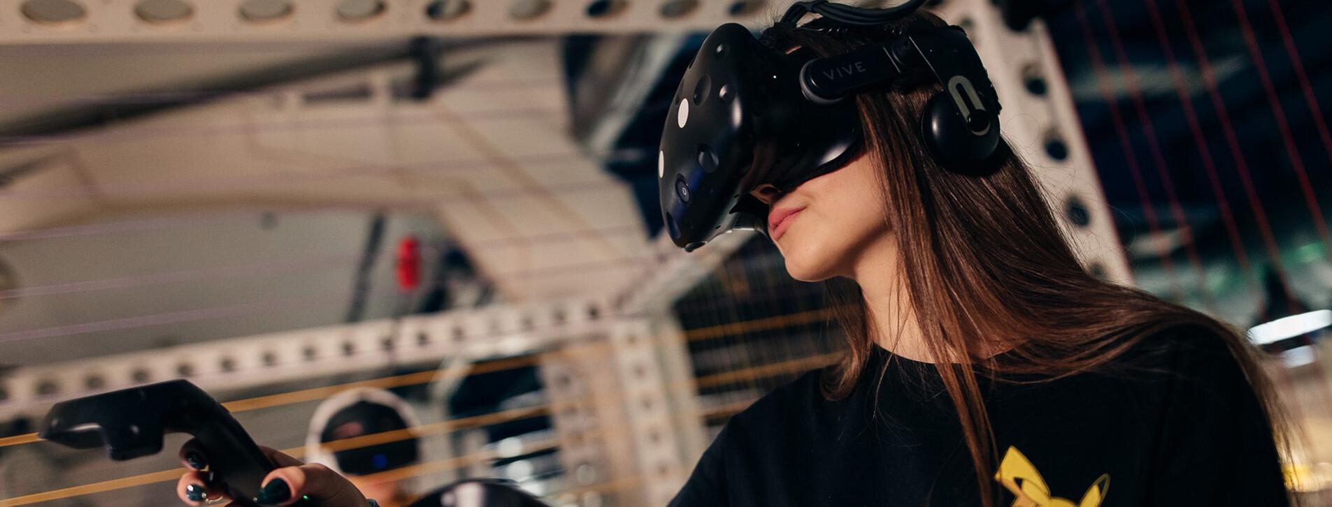 Фото 1 - Погружение в мир VR-игр для компании