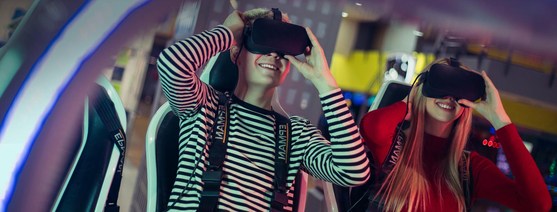 Фото 1 - Экшн-фильм в VR-очках для двоих