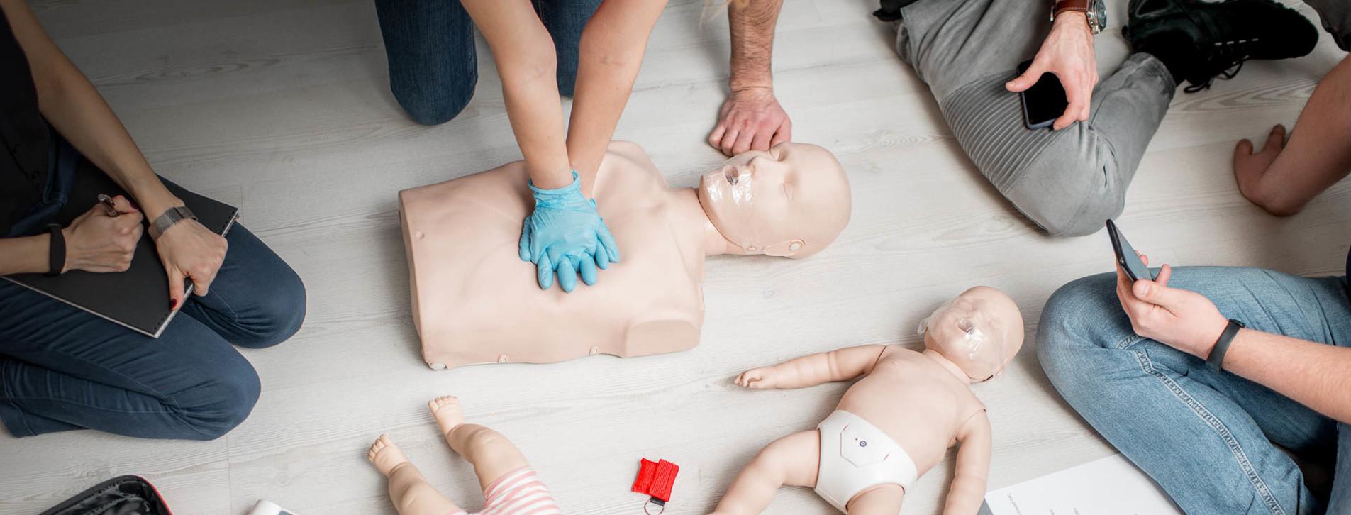Фото 1 - Тренинг по оказанию первой помощи