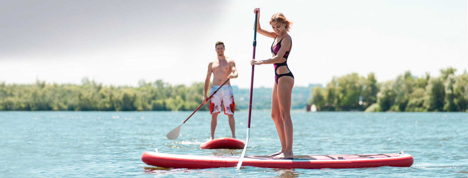 Фото - SUP-серфинг для двоих