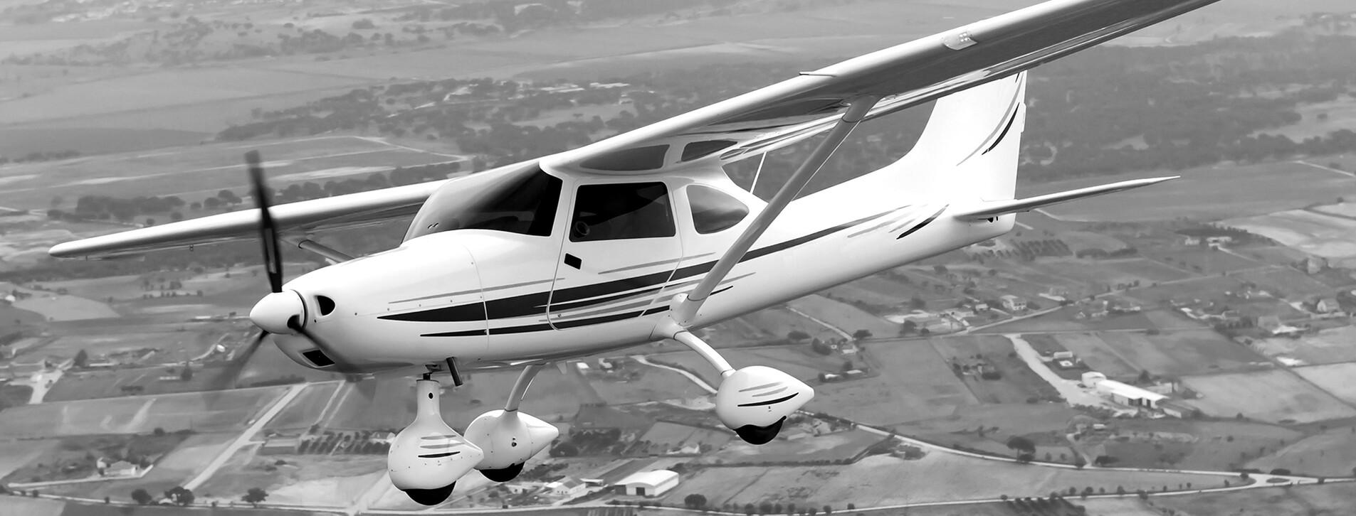 Фото 1 - Політ на легкому літаку