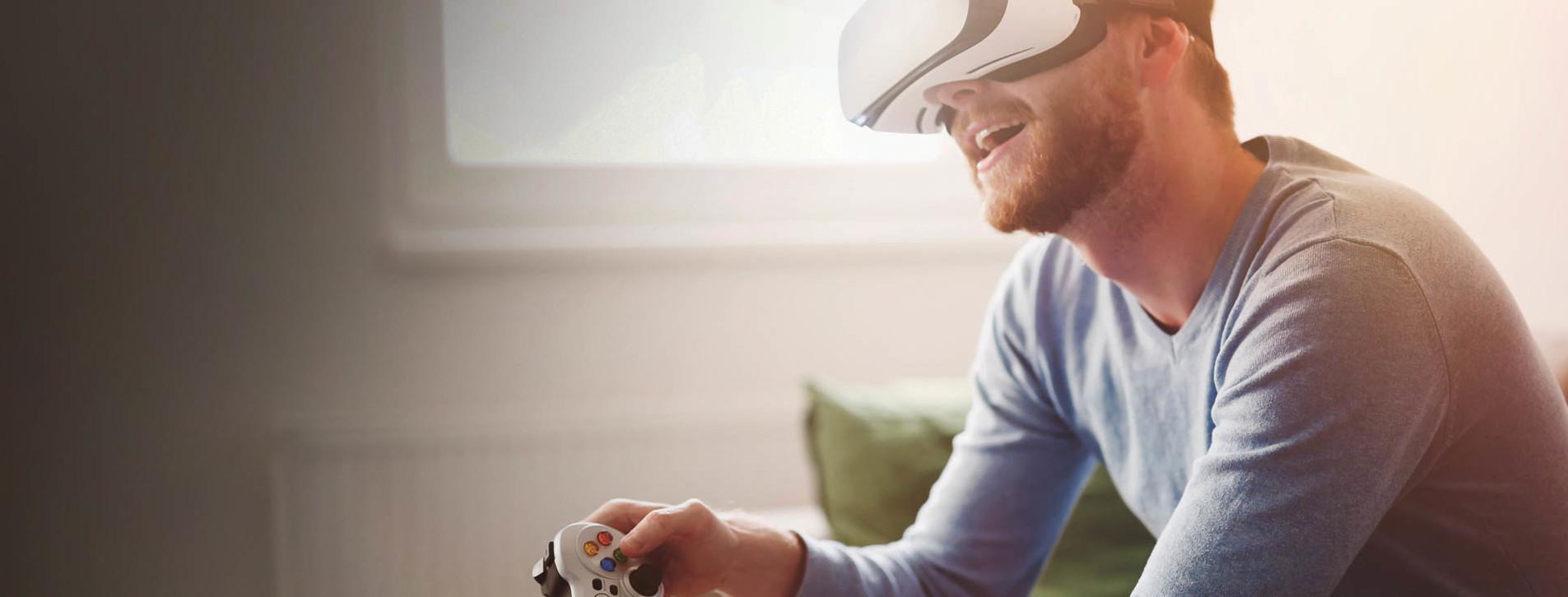 Фото - Playstation у VR-окулярах