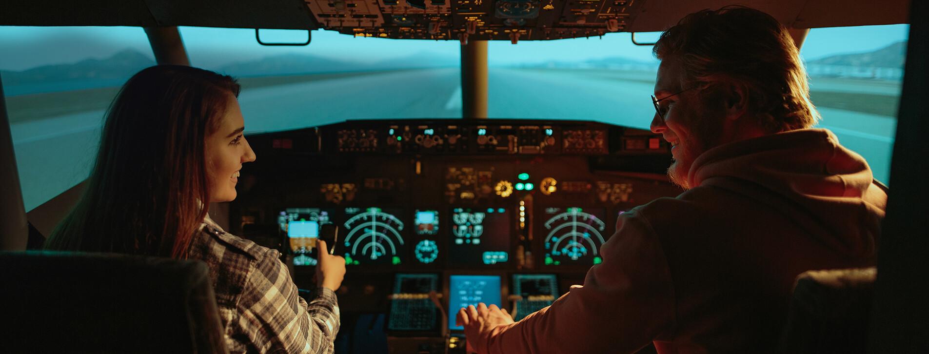Фото - Авіасимулятор Boeing-737 для двох