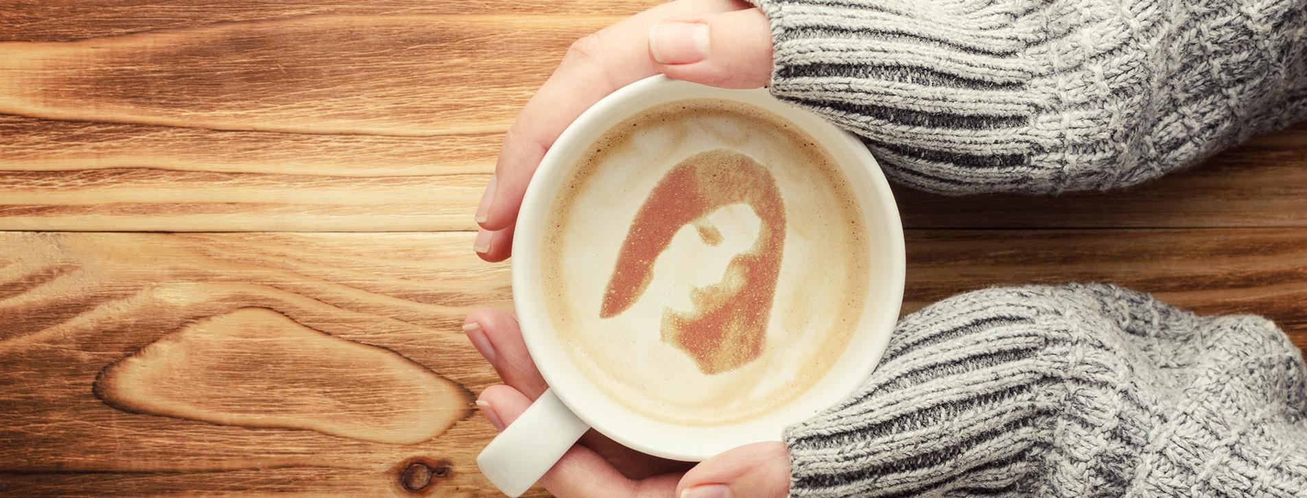 Фото - Портрет на кофе для двоих
