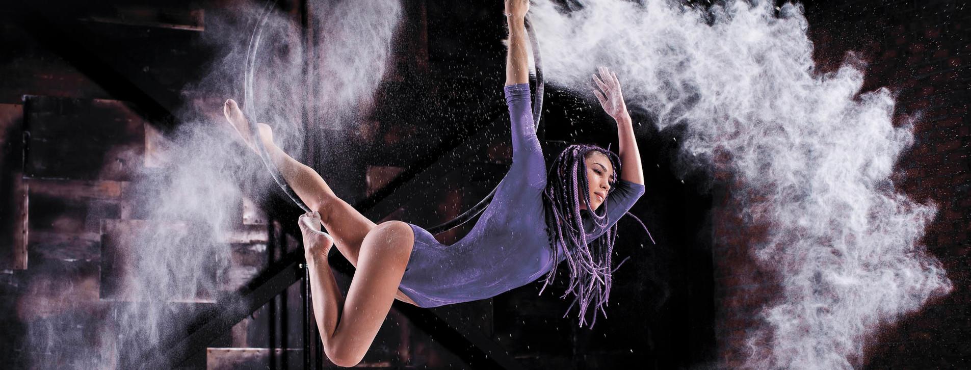 Фото 1 - Воздушная гимнастика на кольце