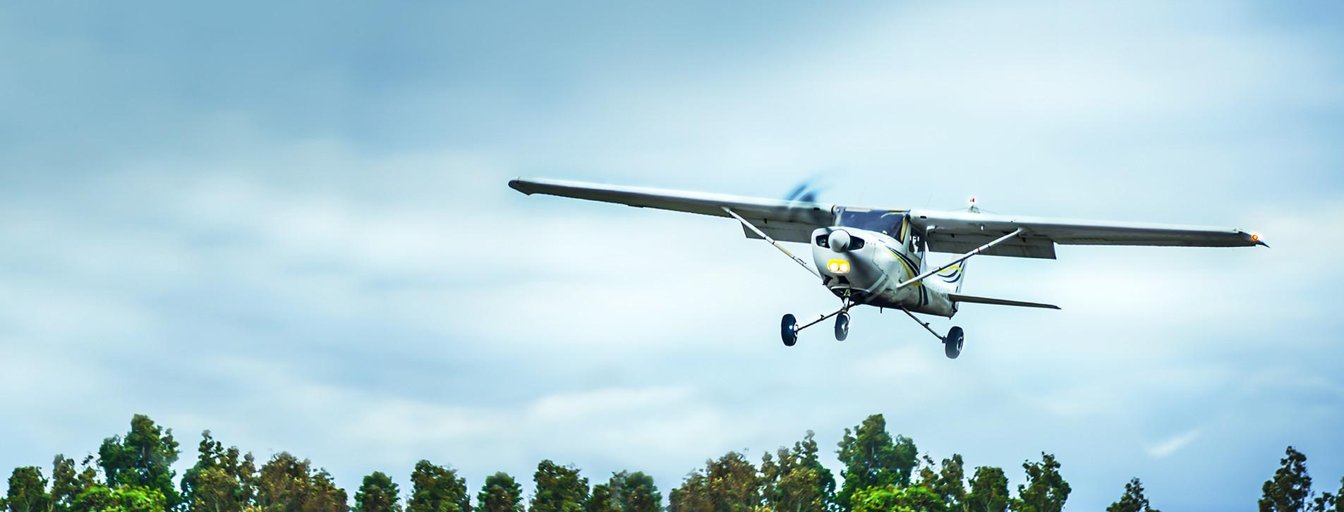 Фото - Політ на літаку до острова Хортиця