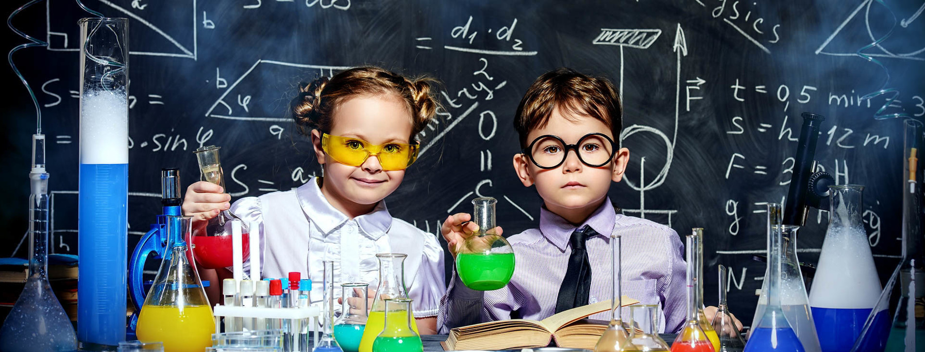 Фото 1 - Детская лаборатория экспериментов