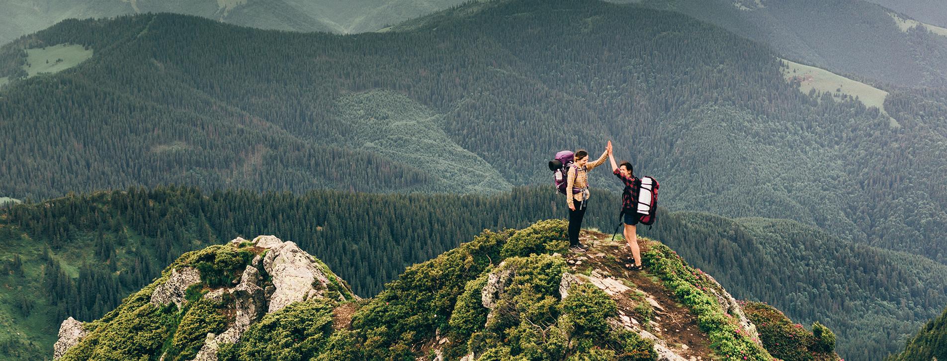Фото 1 - Восхождение на вершины Карпат для двоих