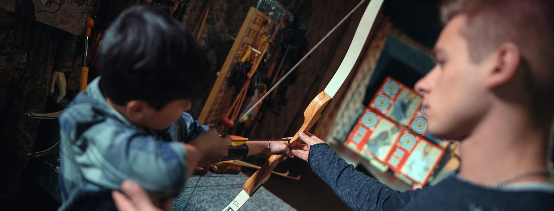 Фото - Детский мастер-класс стрельбы из лука