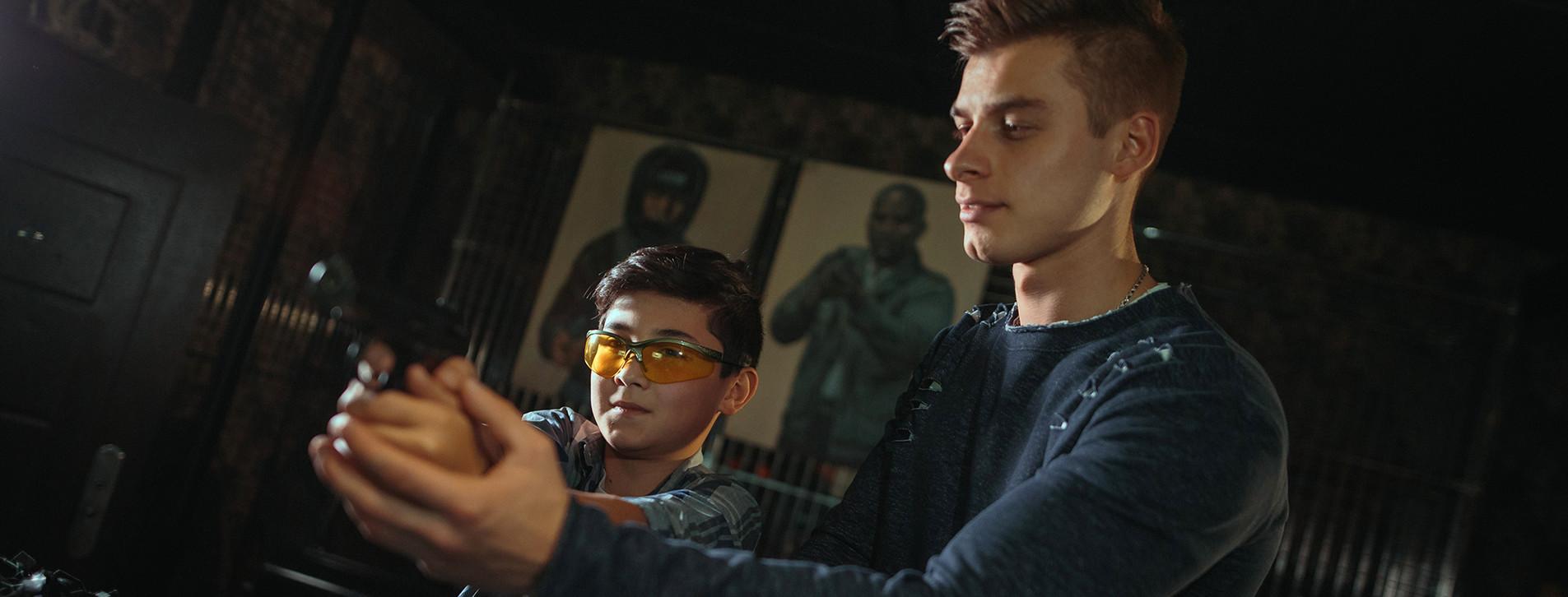 Фото - Детский мастер-класс пневматической стрельбы