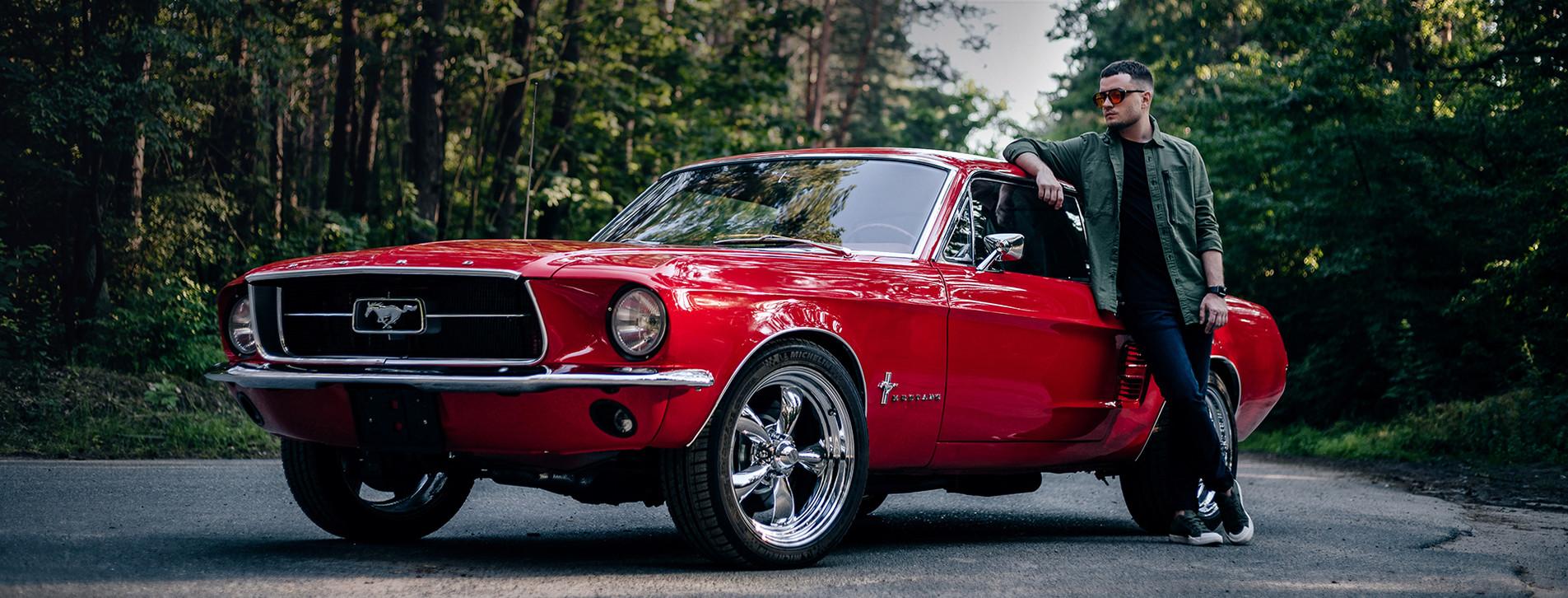 Фото - Тест-драйв ретрокара Ford Mustang 1967