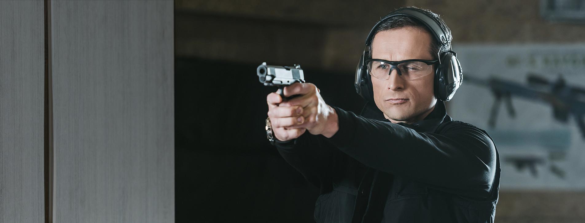 Фото 1 - Стрельба из травматического пистолета