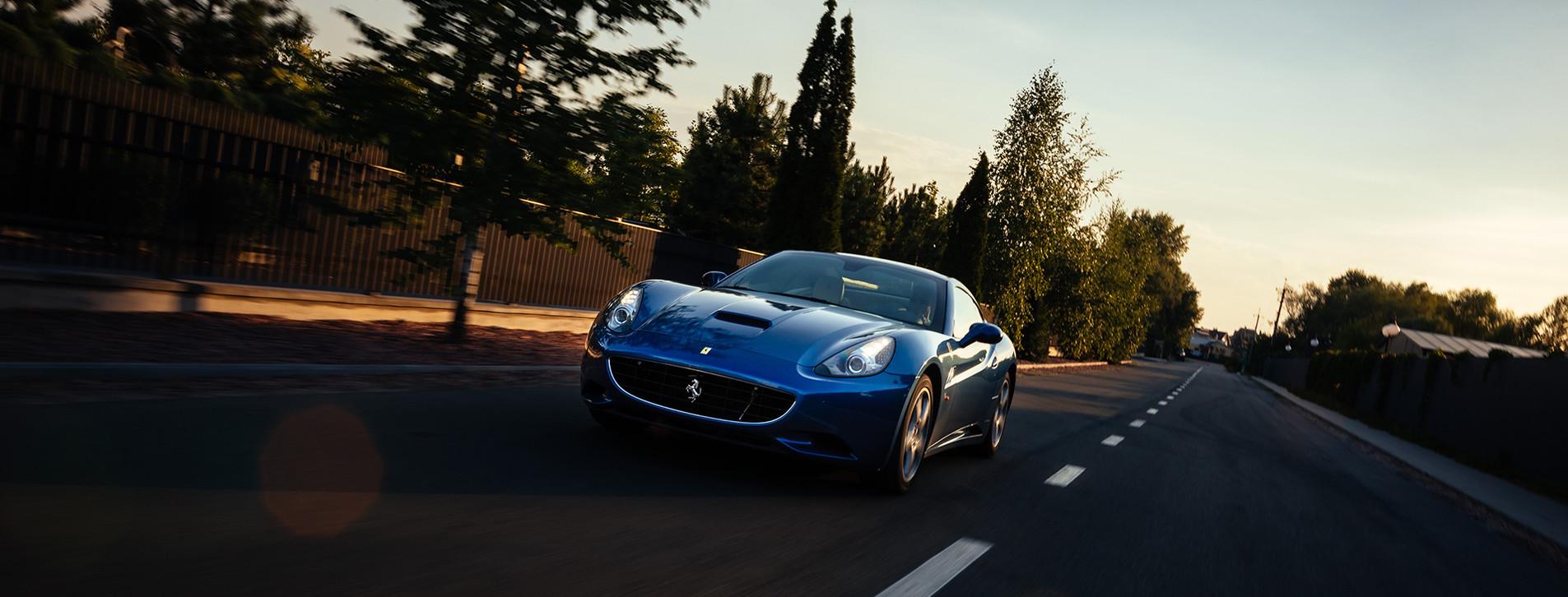 Фото 1 - Тест-драйв Ferrari