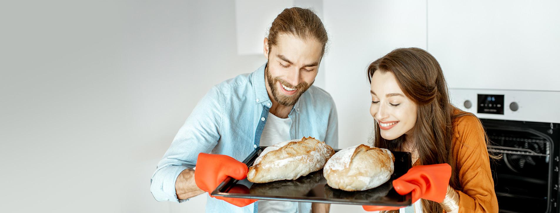 Фото 1 - Мастер-класс выпечки хлеба для двоих