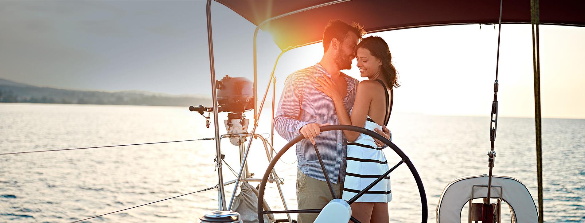 Фото - Закат на яхте для двоих