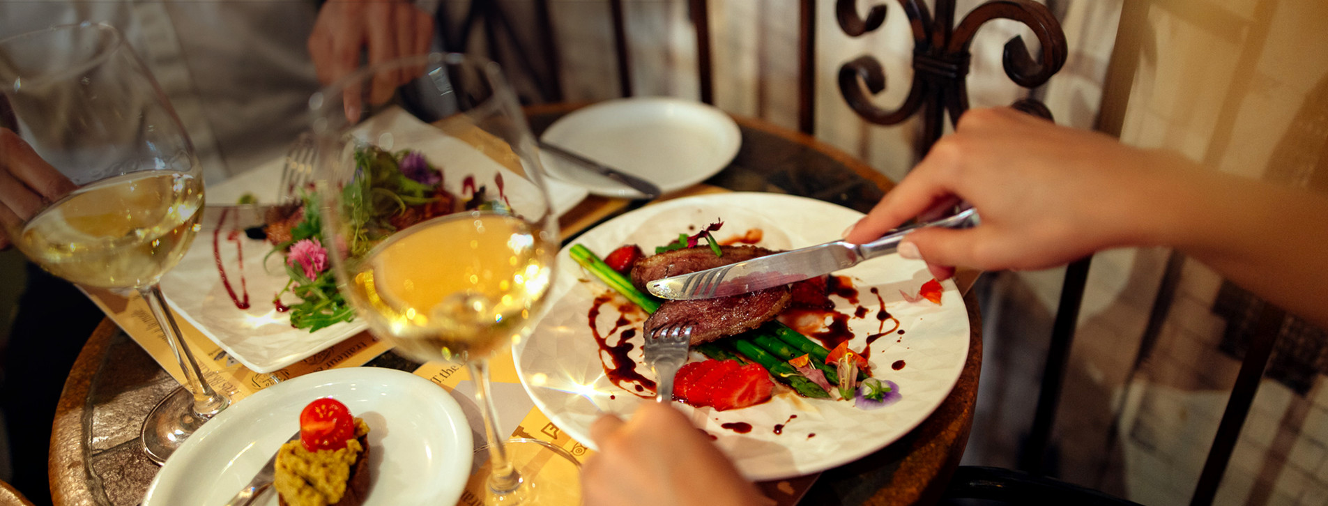 Фото - Ужин во французском ресторане