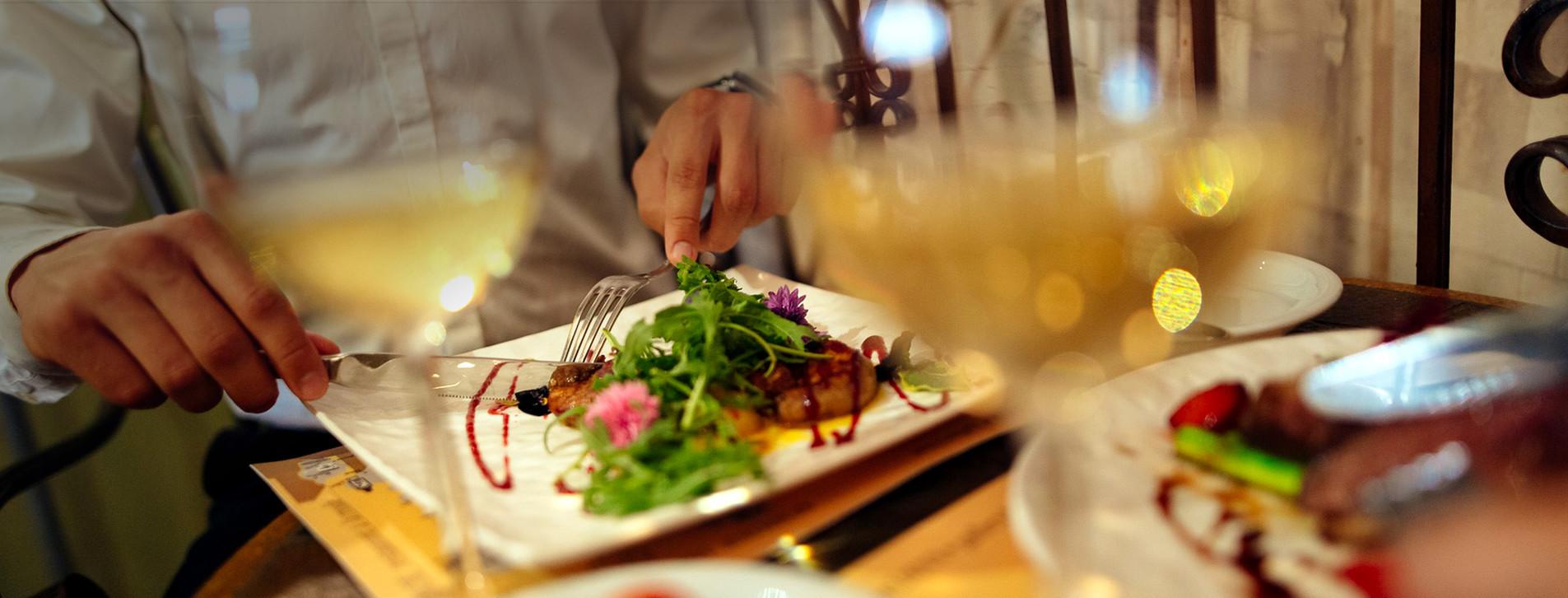 Фото 1 - Ужин во французском ресторане