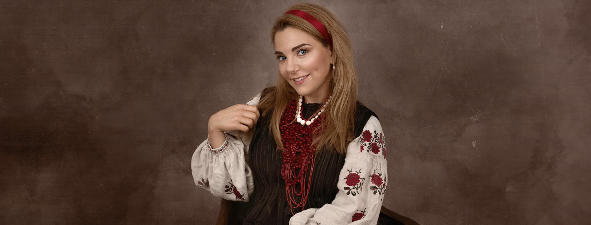 Фото 1 - Этнофотосессия в украинских костюмах для двоих