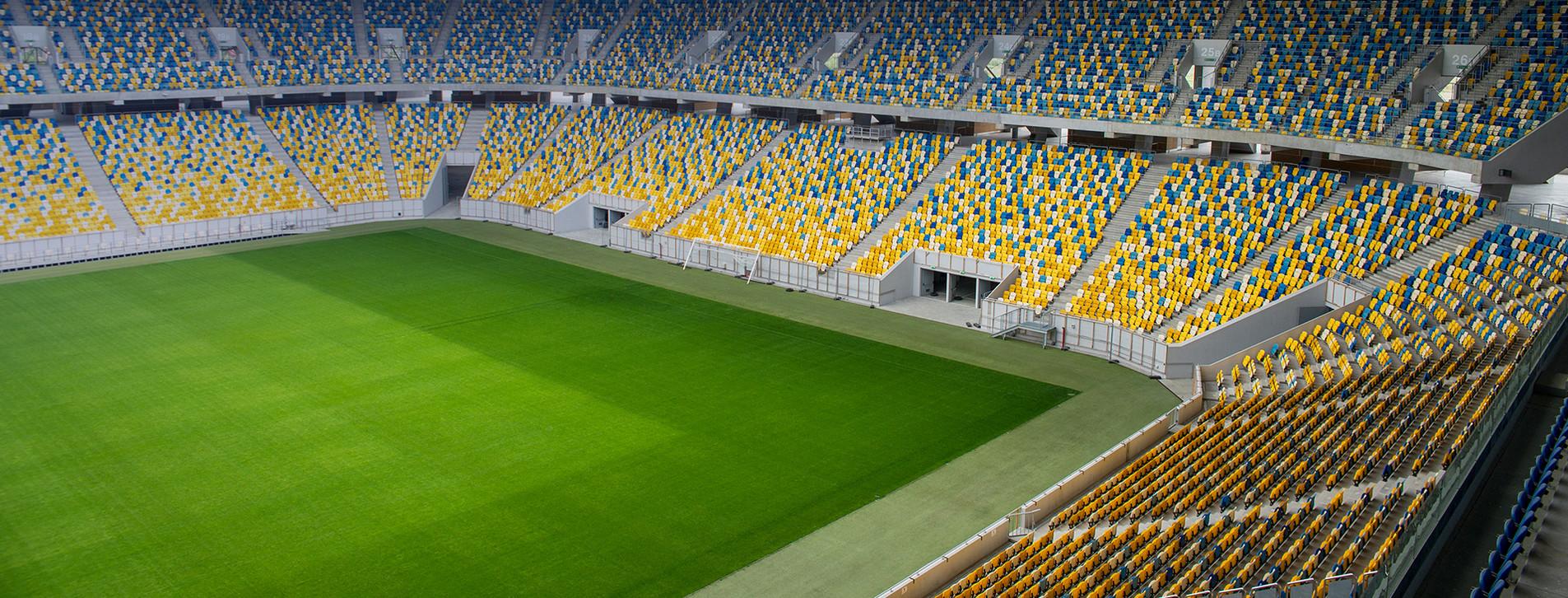 Фото 1 - Экскурсия на стадион «Арена Львов» для компании