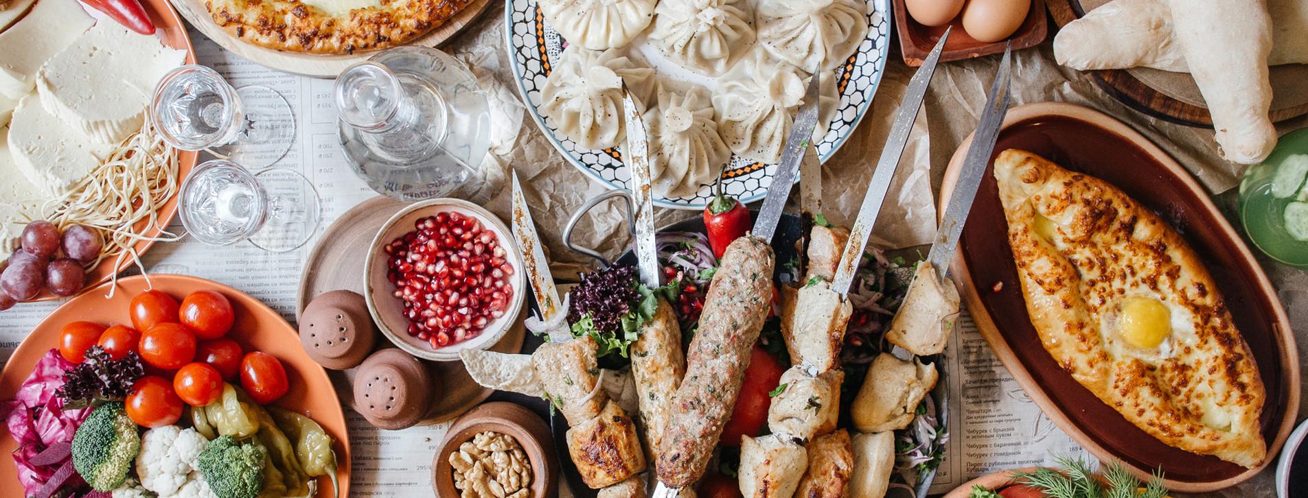 Фото - Ужин в грузинском ресторане
